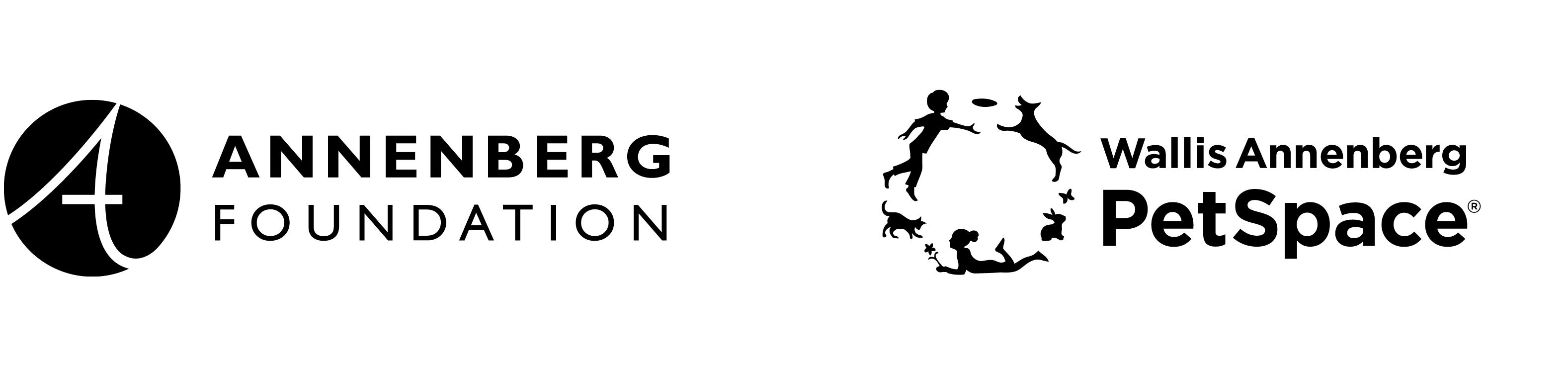 Annenberg Foundation + PetSpace logo